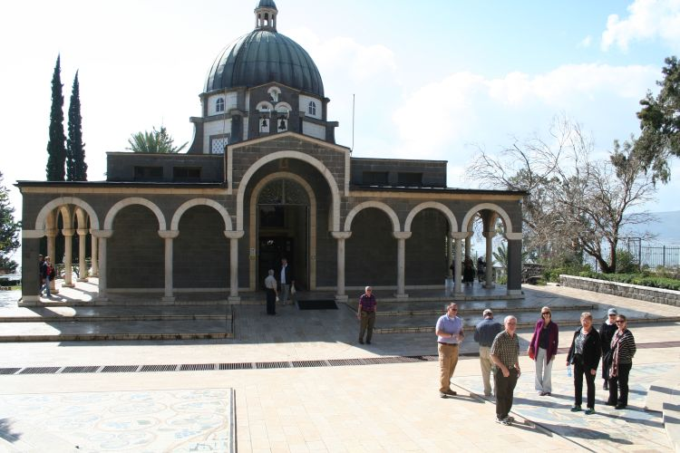 Church, Mount of Beatitudes. Photo Credit Don Sanders